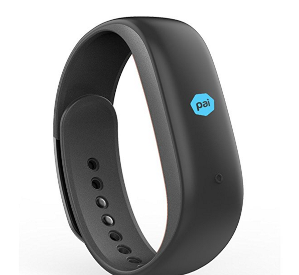 Lenovo Heart Rate Fitness Band (Fashion-Black)