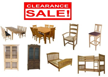 Clearance Sale:- Get Upto 70% off on Furniture & More + Free Shipping