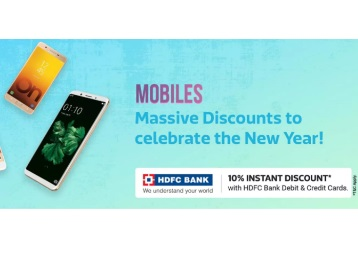 Massive Discounts on Top Selling Mobiles + Extra 10% OFF