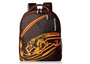 Pronto Passion 20 Ltrs Coffee Casual Backpack at Just Rs. 392
