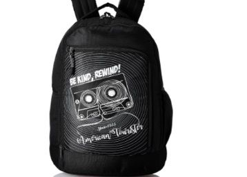 American Tourister 28 Ltrs Black Casual Backpack (AMT PING BACKPACK 02 - BLACK) at Rs. 682