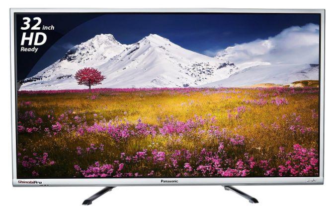 Panasonic 80 cm (32 inches) Viera Shinobi , super bright TH-32E460D HD ready LED TV (Black) at Rs. 17990