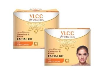 NATURAL FAIRNESS CHANDAN & KESAR FACIAL KIT (COMBO OF 2) at Rs. 169
