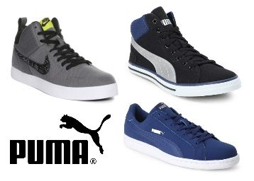 Best Styles Puma, Nike, & Reebok at Up to 70% Off Only at Myntra