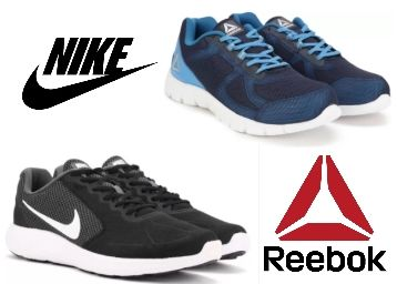 Puma, Reebok, Adidas Nike Shoes Starting at Just Rs. 322