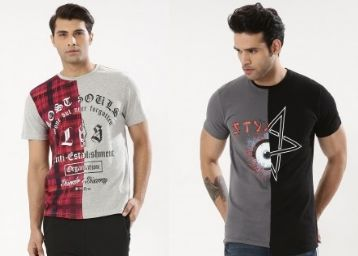 T-Shirts Up to 76% Off From Just Rs. 145