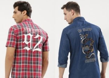 Shirts Up to 76% Off From Just Rs. 465
