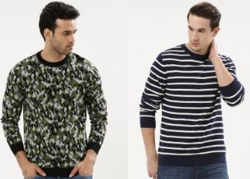 Pullovers Up to 56% Off From Just Rs. 665