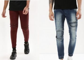 Jog Pants Up to 72% Off From Just Rs. 385