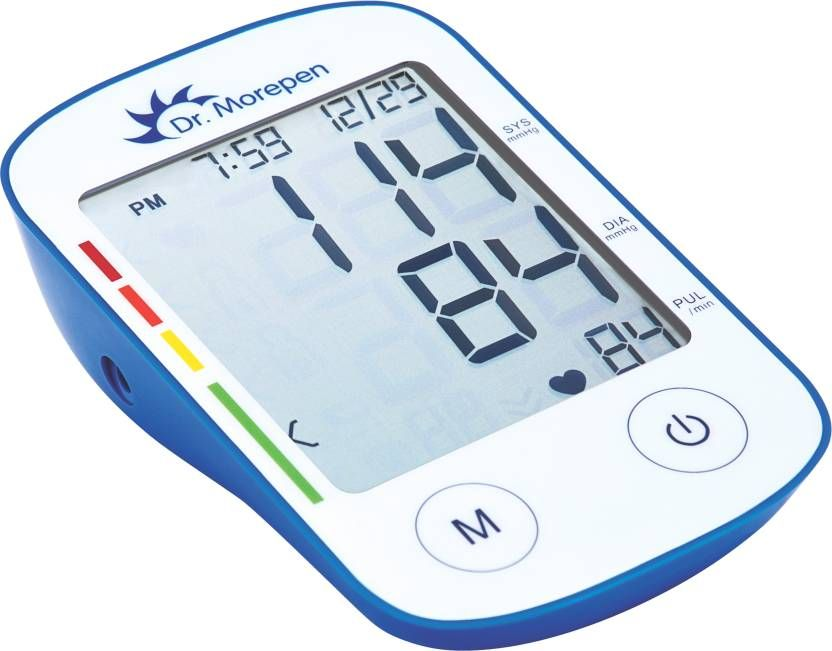 Dr. Morepen BP-11 Bp Monitor (Blue, White) at Flat 65% OFF