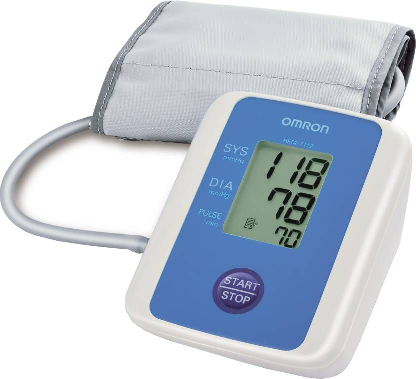 Omron HEM-7112 BP Monitor (White) at Just Rs. 1099