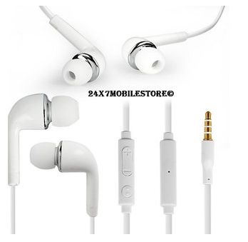 7. HEADFREE FOR MOBILE PHONE WHITE COLOR 3.5 MM