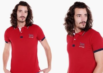 LAWMAN Mens Solid Polo T-Shirt at Just Rs. 499