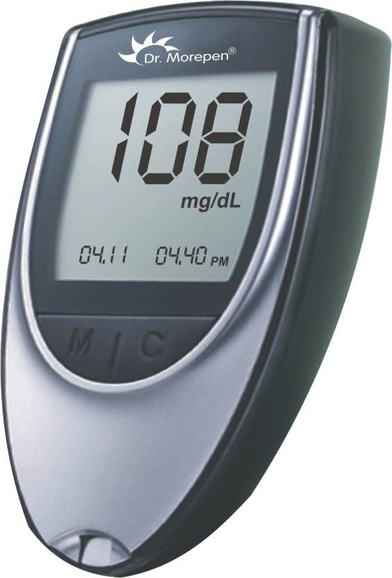Dr. Morepen BG-03 Glucometer at Just Rs. 499 [MRP Rs. 1590]