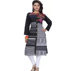 Printed Women Straight Kurta