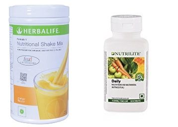 Rare Discount - Amway Nutrilite & Herbal Life Products at Minimum 30% Off