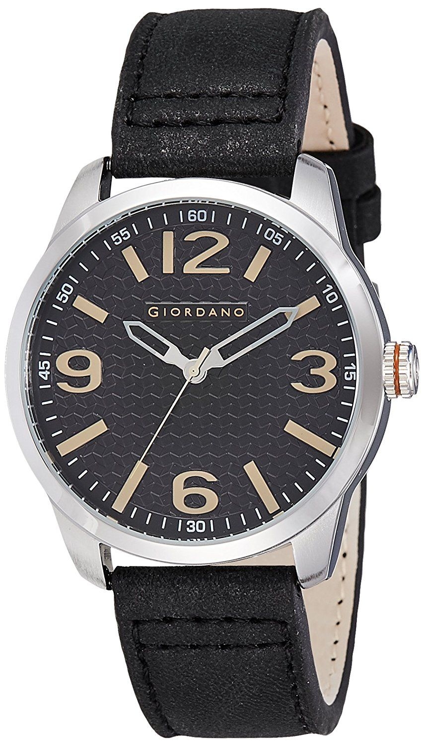 Giordano Analog Black Dial Men
