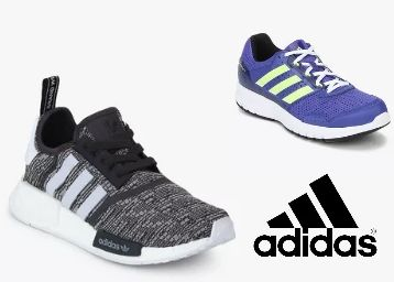 Adidas Footwear at Minimum 51-65% Off From Just Rs. 343
