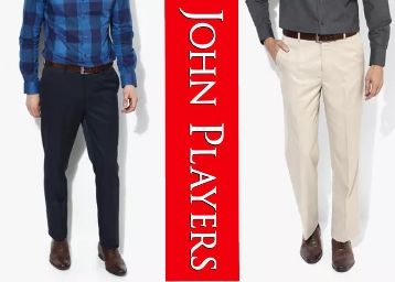John Player Trousers Minimum 61% Off From Rs. 507