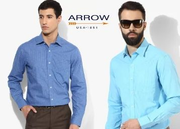 Arrow Shirts Minimum 60% Off From Just Rs. 760
