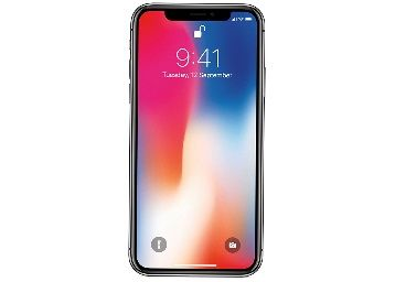Apple iPhone X (Space Grey, 64GB)