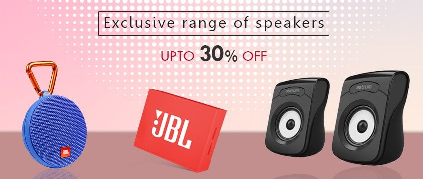 Exclusive Range of JBL Speakers at Upto 35% off + Free Shipping