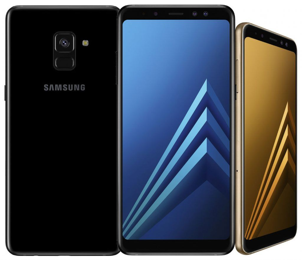 Samsung Galaxy A8+ (Black, 6GB RAM + 64GB Memory) at Flat Rs. 1500 OFF