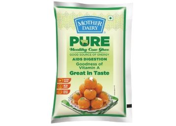 Mother Dairy Cow Ghee, 1L [ Pack Of 2 ] at Just Rs. 598