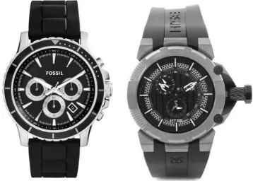 Fossil, Titan Watches Minimum 40% Off + Extra 10% Off