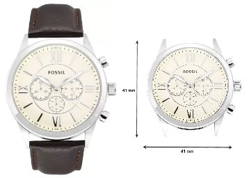 Fossil BQ1129I Watch - For Men at 50% Off + Extra 14% Off