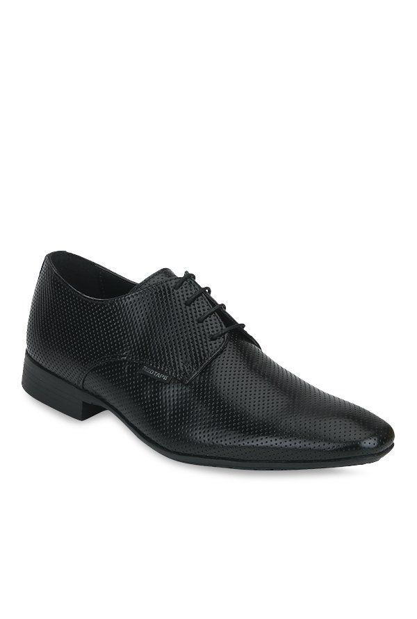 Red Tape Black Derby Shoes at Flat 70% off + Free Shipping