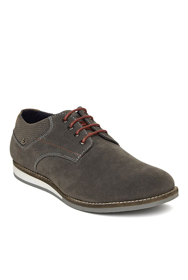 Duke Grey Derby Shoes at Flat 65% off + Free Shipping
