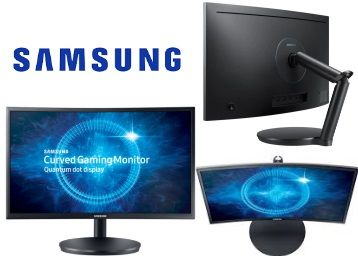 Samsung 24 inch Curved Full HD LED Backlit Gaming Monitor at Just Rs. 16999