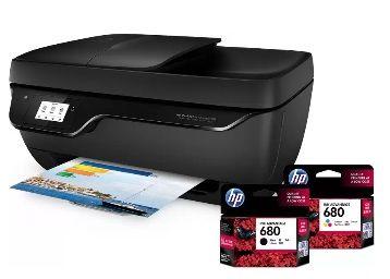 HP DeskJet Ink Advantage 3835 All-in-One Multi-function Wireless Printer (Black, Ink Cartridge)