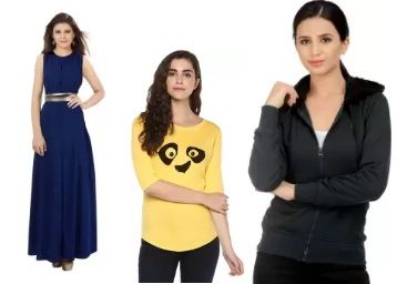 Get minimum 80% off on Women's Clothing [Top Brands]