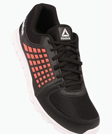 REEBOK Mens Mesh Lace Up Sports Shoes at Just Rs. 1343