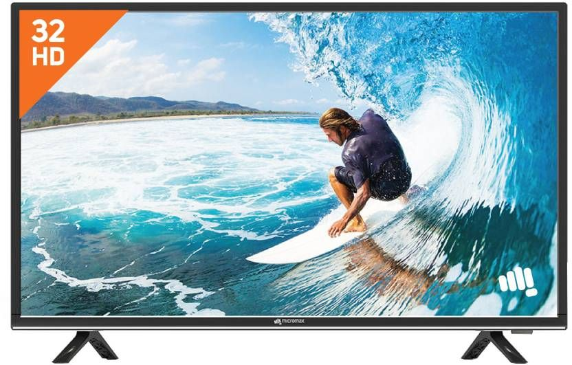 Micromax 81 cm (32 inch) HD Ready LED TV (32T8361HD/32T8352HD) at Just Rs. 12999