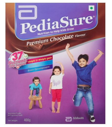 PediaSure Premium Chocolate - 400 g (Refill pack) at Rs. 414 [Apply Rs. 40 Off Coupon]