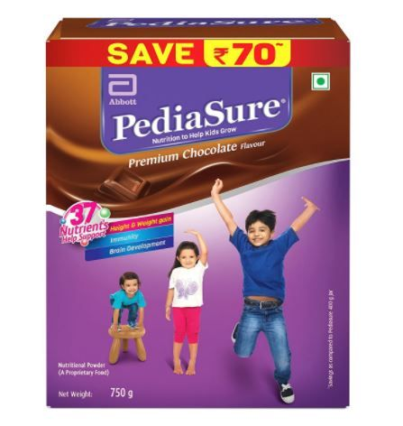 Flat Rs. 110 Off On PediaSure Premium Chocolate - 750 g (Refill pack)