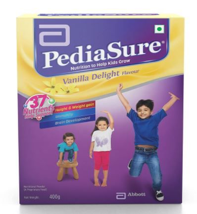 [ Apply Rs. 40 Off Coupon ] PediaSure Vanilla Delight - 400 g (Refill pack) at Rs. 405