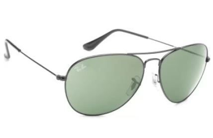 Ray-Ban Rectangular Sunglasses (Brown) Flat 40% Off