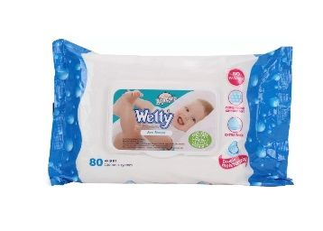 Wetty Sea Breeze Wipes (80 Pieces)