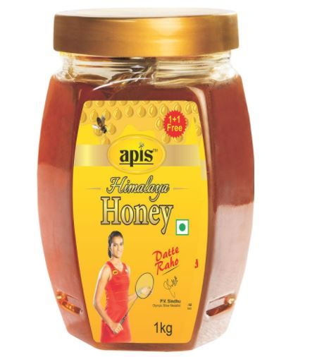 Apis Himalaya Honey, 1kg each (Buy 1 Get 1 Free) at Rs. 351 [ 2 K.G ]