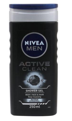 Nivea Men Active Clean Shower Gel, 250ml at Just Rs. 133