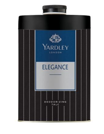 Yardley London - Elegance Deodorizing Talc for Men, 250g at Rs. 112