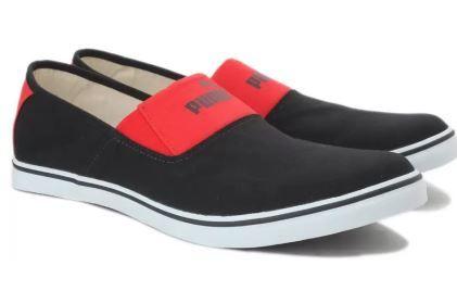 Puma Elara Slip On IDP Sneakers For Men (Black) at 75% Off