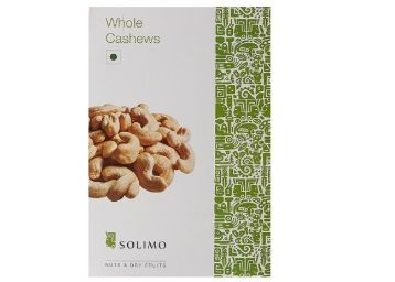 Extra Rs. 100 Cashback:- Solimo Premium Cashews, 500g at Just Rs. 520