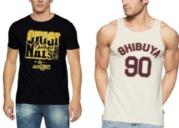 Jack & Jones T-Shirts From Just Rs. 359