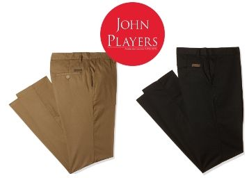 John Player Trousers From Just Rs. 799