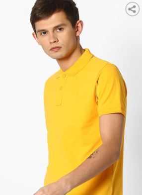 PEPE JEANS Cotton Polo T-shirt at Flat 70% Off